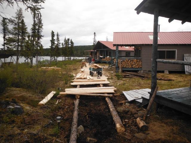 New Rails, New Tamarack Treads